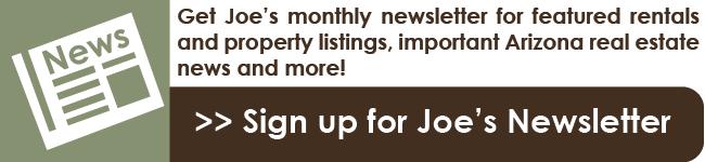 Sign up for Joe's Newsletter